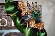 Custom Loki  Wedding Garter for Geek Weddings and Conventions. $17.50, via Etsy. @Freya StormShard
