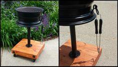 DIY Tire Rim Grill Main Photo