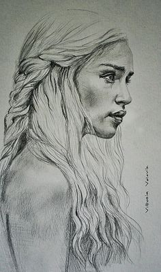 Custom  Portrait Pencil Drawing from