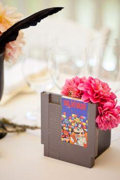 Anna + Jonny's Retro Gamer Wedding - When Geeks Wed