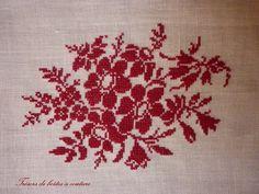 Modèle Véronique Maillard Cross stitch flowers