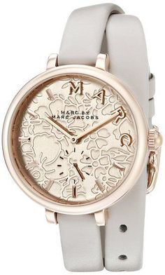 Marc By Marc Jacobs Sally Leather Ladies Watch MJ1418 #MarcJacobs #Dress
