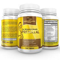 BEST PURE Prenatal Vitamin for Womens Health before  with pregnancy Top Selling Womens Supplement for a Healthy Pregnancy  120 Count  With Folic Acid * You can find out more details at the link of the image.