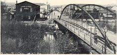"""Reno was once named """"Lake's Crossing"""" for the toll bridge that spanned the Truckee River close to the present day Virginia Street bridge. Myron Lake would charge a toll to cross the bridge."""