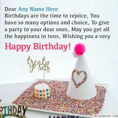 Birthday Wishes For Friends With Name