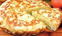 clickpoftabuna.ro reteta-zilei felul-principal placinta-de-cartofi index.html Romanian Food, Crackers, Baked Potato, Bacon, Brunch, Dairy, Food And Drink, Pizza, Cheese