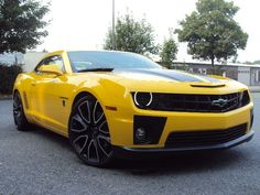 Chevrolet Camaro 2SS RS Coupe 6,2 V8 Transformers Bumblebee Edition #cars