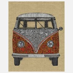 The Camper Print 11x14 now featured on Fab. @Julie Condon
