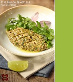 Kibe vegano de ervilhas secas - receita armênia (vegan kibbeh made from dried peas - Armenian recipe)