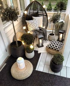 Beautiful Outdoor furniture for a small space. Beautiful Outdoor furniture for a small space. Eugenie Zimmer Beautiful Outdoor furniture for a small space. Get […] makeover black ideas backyard patio Apartment Balcony Decorating, Apartment Balconies, Cool Apartments, Apartment Ideas, Apartments Decorating, Apartment Kitchen, Apartment Interior, Apartment Design, Apartment Living