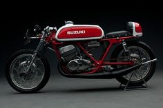 Suzuki T500 by Bob Guynes - via Bike EXIF