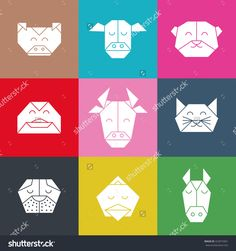 stock-vector-pattern-with-polygonal-animal-heads-animals-triangle-background-animal-low-poly-pattern-vector-422019361.jpg (1500×1600)