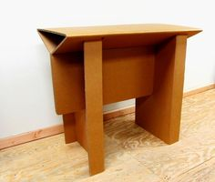 Instead of paying upwards of $500 for a standing desk, it might be time to consider a more affordable, and eco-friendly version that costs just $65. The Cardboard Standing Desk fromChairigamidoesn't require anyfasteners or glue to assemble either.
