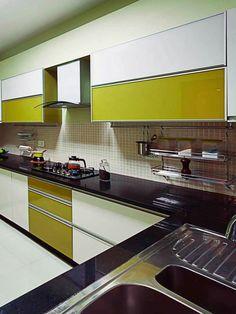New kitchen utensils modern 45 Ideas Moduler Kitchen, Modern Kitchen Sinks, Kitchen Modular, Kitchen Room Design, Kitchen Units, Modern Kitchen Design, Interior Design Kitchen, Kitchen Decor, Kitchen Utensils