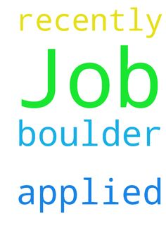 Job -  Please pray that I get the job in Boulder that I had recently applied for, in Jesus Name, thank you  Posted at: https://prayerrequest.com/t/Tfd #pray #prayer #request #prayerrequest
