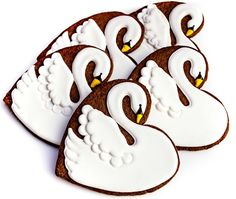 Swans (Heart Cookie Cutter)