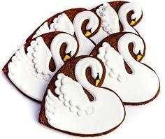 Swans (Heart Cookie Cutter)