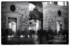 A Walk Through Michaelerplatz Photograph by John Rizzuto Vienna, Fine Art Prints, Photography, Painting, Photograph, Photography Business, Painting Art, Photoshoot, Fotografie