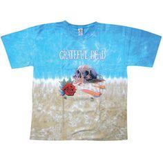 Grateful Dead Desert Skull Tie Dye T-shirt