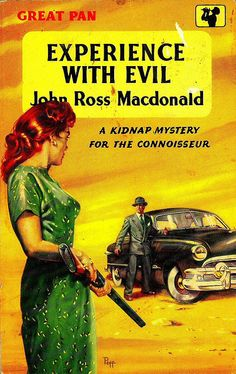 'Experience with Evil (A Kidnap Mystery for the Connoisseur)' - John Ross McDonald by letslookupandsmile, via Flickr