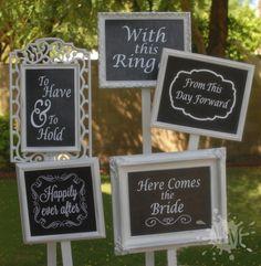 Shabby Chic Garden, Diy Wedding Decorations, Wedding Signs, Garden Wedding, Thrift, Murals, Frames, Place Card Holders, Bride