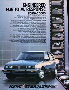 1984 Pontiac 6000 4-Door Sedan - Productioncars.com