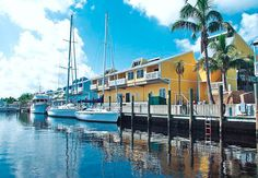 Beautiful photograph of Fishermen's Village Marina Punta Gorda, Florida. Punta Gorda Florida, Florida Resorts, Florida Usa, Hotels And Resorts, Best Places To Live, Great Places, Places To Travel, Beautiful Places, Places To Visit