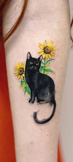 19 Creative Pet Inspired Tattoos To Remember Your Best Friend-It doesn't Mat. - 19 Creative Pet Inspired Tattoos To Remember Your Best Friend It doesn't matter what kind of pet - Shape Tattoo, S Tattoo, Piercing Tattoo, Body Art Tattoos, Pet Tattoos, Horse Tattoos, Unique Tattoos, Cool Tattoos, Watercolor Cat Tattoo