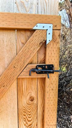 If you're going through the process of adding a fence to your home, you will probably need to also make a wooden gate. Adding a gate to your fence is important to provide easy access from your front and back yards without needing to go through a garage or house.