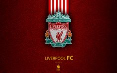 Download wallpapers Liverpool FC, 4K, English football club, leather texture, Premier League, Liverpool logo, emblem, Liverpool, England, United Kingdom, football