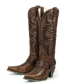 Lane Stud Rocker Boots - Buck Fergeson Originals, Inc. Store