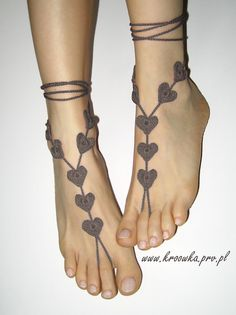 Barefoot Sandals - craft inspiration