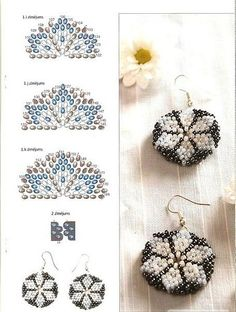 earrings. ~ Seed Bead Tutorials