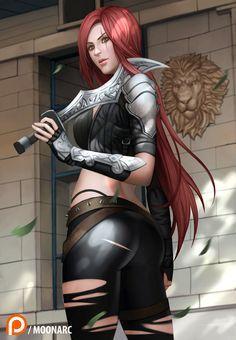 Katarina League of Legends by Moonarc on DeviantArt