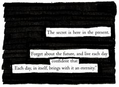An Eternity - Blackout Poem by Kevin Harrell www.blackoutpoetry.net