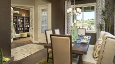 We love this Dining Room in Terrain, a Taylor Morrison community in Colorado.