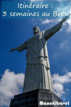 Itinéraire au Brésil : quelles destinations choisir pour un voyage au Brésil ? Voici un exemple d'itinéraire pour 3 semaines au Brésil.