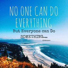 No one can do everything. ...but everyone can do SOMETHING.  #Stream2Sea #MarineSafety #EcoConscious #Biodegradable #SkinCare #NaturalProducts #NaturalSunscreen #NonToxic #BodyCare #scuba #ScubaGirls #ScubaDiving #UnderwaterLife #SeaLife #CoralReefSafe #ReefProtection #ProtectWhatYouLove #GetInvolved  #Earthtweet #ECO #Green #Sustainability #DoGood #4Change