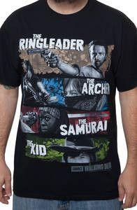 Ringleader Archer Samurai Kid Walking Dead T-Shirt