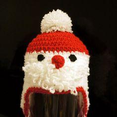Santa Claus Hat  Crochet Christmas hat Crochet by stylishbabyhats, $22.99