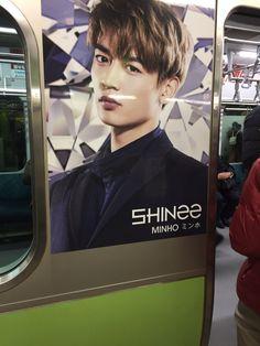 SHINee 電車 ミンホ