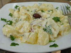 Ελληνικές συνταγές για νόστιμο, υγιεινό και οικονομικό φαγητό. Δοκιμάστε τες όλες Greek Dishes, Cooking Recipes, Healthy Recipes, Greek Salad, Salad Bar, Greek Recipes, Tasty Dishes, Salad Recipes, Potato Salad