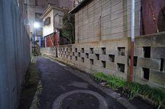 夜散歩のススメ「暗渠路地」東京都中野区