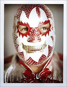 Art luchador mask