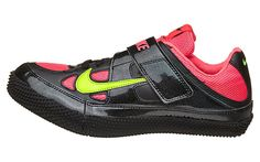 Track and Field 106981: New Nike Zoom High Jump Hj 3 Track And Field Shoes Spikes Size 12 Black Pink -> BUY IT NOW ONLY: $69.99 on eBay!