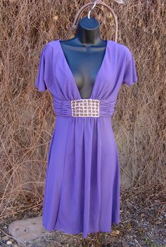 Frederick's of Hollywood Purple Party Dress with Bling Size XS..just $8 at BestDressedPoorGirl!