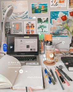 Study Space, Study Desk, Study Board, Desk Organisation Student, Desk Organization, Study Room Decor, Room Ideas Bedroom, Study Corner, Study Pictures