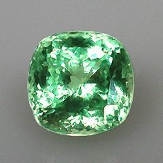 African Mint-Colored Garnet ~  The northern mining area of Merelani ~ Tanzania