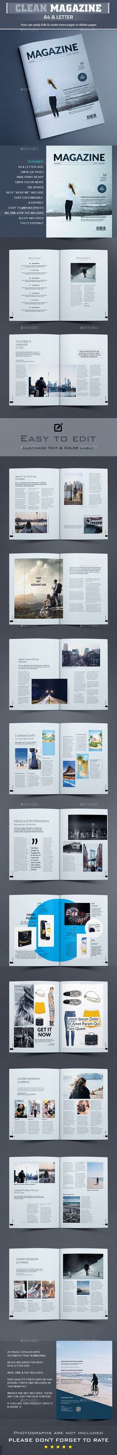 #Multipurpose #Magazine #Template - Magazines #Print #Templates Download here: https://graphicriver.net/item/multipurpose-magazine-template/19135899?ref=alena994
