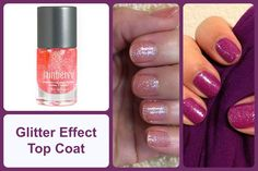 GLITTER EFFECT TOP COAT Jamberry Nail Lacquer #glitterjn
